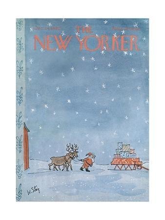 The New Yorker Cover - December 24, 1966