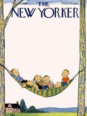 The New Yorker Cover - July 26, 1958 by William Steig