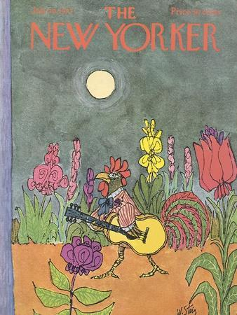 The New Yorker Cover - July 29, 1972