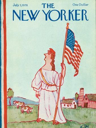 The New Yorker Cover - July 3, 1978