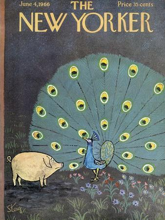 The New Yorker Cover - June 4, 1966