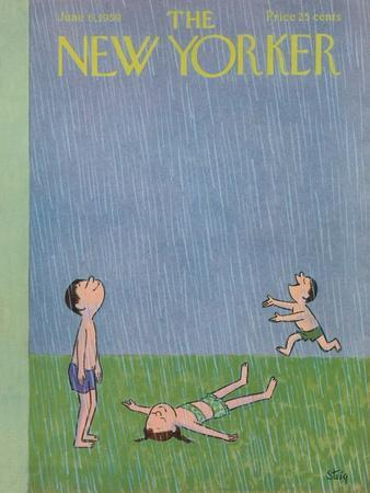 The New Yorker Cover - June 6, 1959