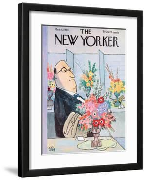 The New Yorker Cover - March 4, 1961 by William Steig