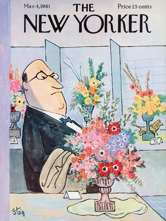 The New Yorker Cover - March 4, 1961
