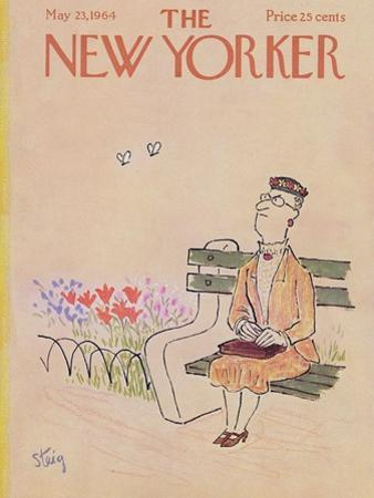 The New Yorker Cover - May 23, 1964 by William Steig