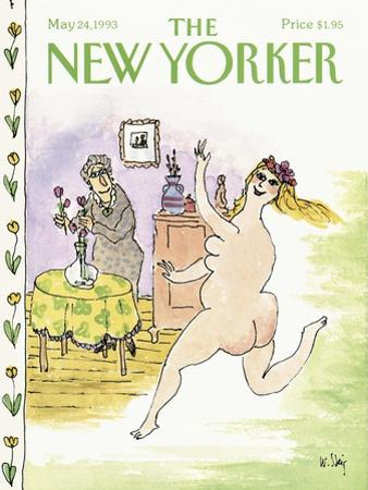 The New Yorker Cover - May 24, 1993 by William Steig