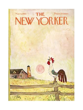 The New Yorker Cover - May 8, 1965 by William Steig