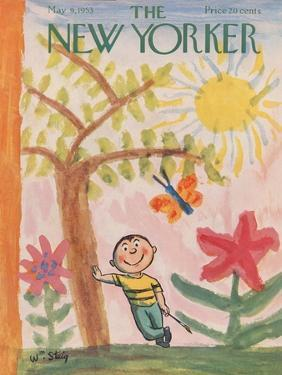 The New Yorker Cover - May 9, 1953 by William Steig