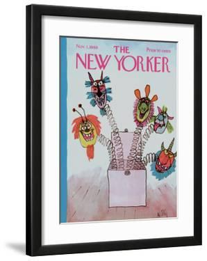 The New Yorker Cover - November 1, 1969 by William Steig