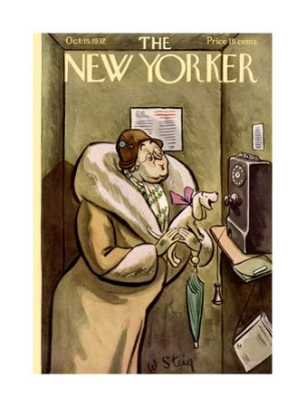 The New Yorker Cover - October 15, 1932 by William Steig