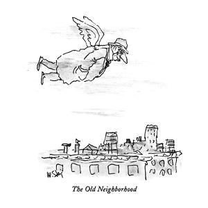 The Old Neighborhood - New Yorker Cartoon by William Steig