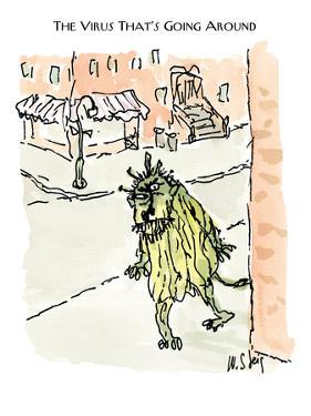 The Virus That's Going Around - New Yorker Cartoon by William Steig