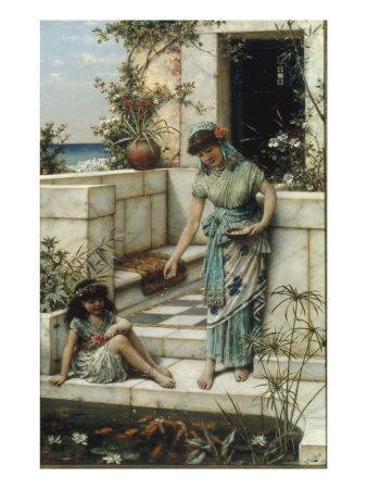Feeding the Goldfish, 1888