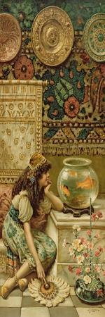 Goldfish, from the Pears Annual, Christmas, 1893