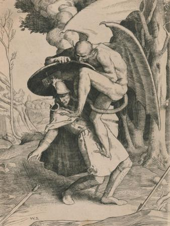 Christian Fights Apollyon, C1916