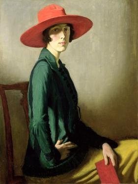 Lady with a Red Hat by William Strang