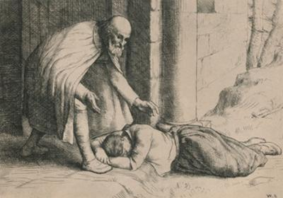 Mercy Swoons before the Gate, C1916