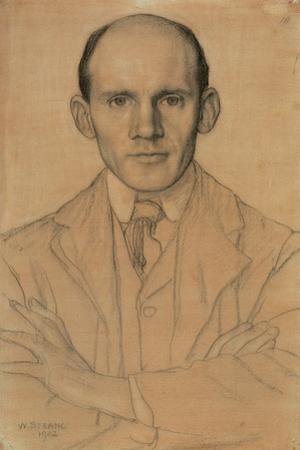 Portrait of James Craig Annan (1864-1946), Photographer, 1902 (W/C and Chalk)