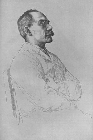 Portrait of Rudyard Kipling, 1898,