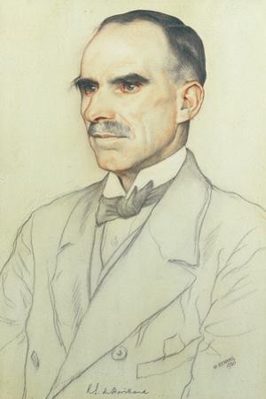 Portrait of William De Havilland, 1920