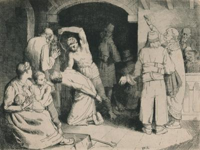 The Scourging of Faithful, C1916