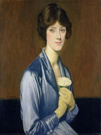 The White Rose (Portrait of a Lady), 1919