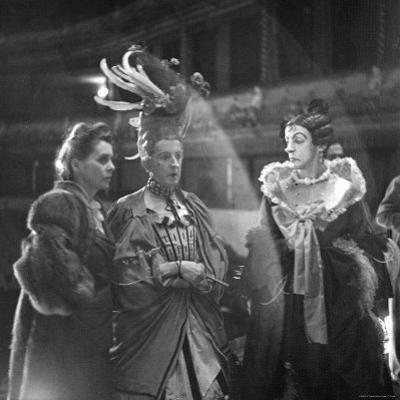 "Cast Members Frederick Ashton and Robert Helpmann During a Dress Rehearsal of Ballet ""Cinderella"""