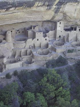 Anasazi Cliff Dwelling, Cliff Palace, Mesa Verde National Park, Colorado, USA by William Sutton