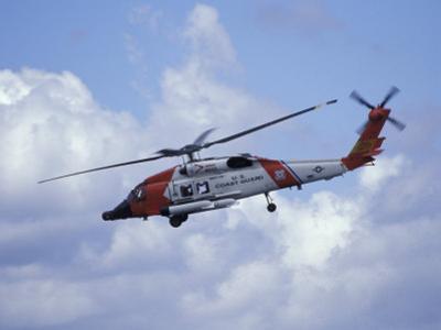 Coast Guard helicopter Demo at the Seattle Maritime Festival, Washington, USA