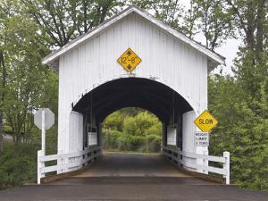 Neal Lane Covered Bridge, Jacksonville, Oregon, USA by William Sutton