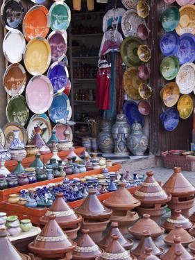 Pottery Shop, Marrakech, Morocco by William Sutton