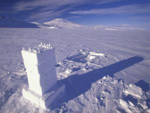 Ross Ice Shelf, Snow School Camp, Antarctica by William Sutton