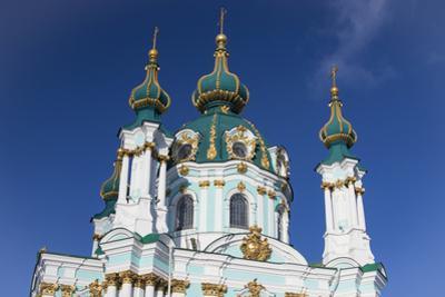 St. Andrew's Church, Kiev, Ukraine. by William Sutton