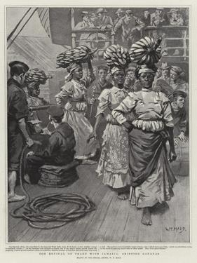 The Revival of Trade with Jamaica, Shipping Bananas by William T. Maud
