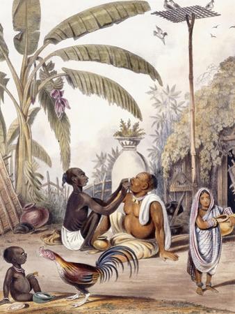 The Village Barber, 1842