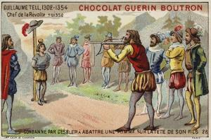 William Tell Is Forced by the Tyrant Gessler to Shoot an Apple from His Son's Head