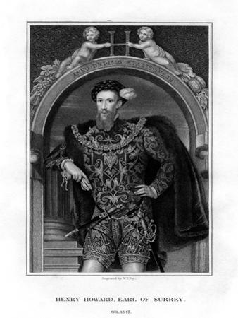 Henry Howard, Earl of Surrey, English Aristocrat and Poet