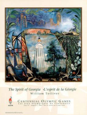 The Spirit of Georgia Atlanta, c.1996 Olympics by William Tolliver