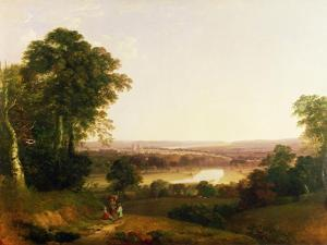 Exeter from Exwick by William Traies