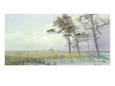 Coastal Scene, Atlantic City, New Jersey, 1854