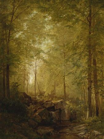 In the Woods, 1872