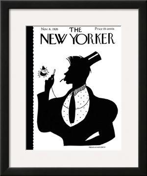 The New Yorker Cover - November 6, 1926 by William Troy