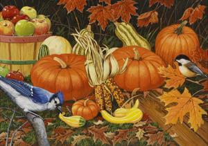 Autumn Bounty by William Vanderdasson