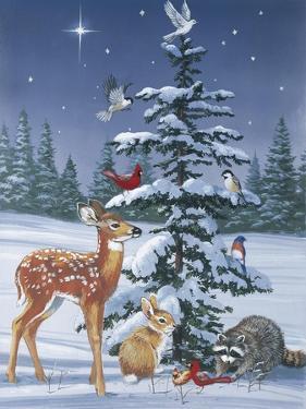 Christmas Gathering by William Vanderdasson