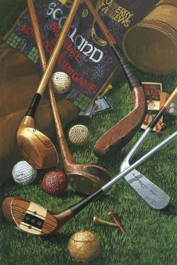 Golf Antiques by William Vanderdasson