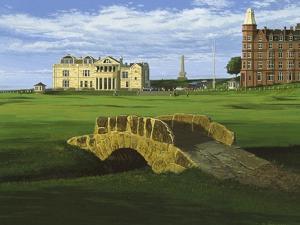 Golf Course 10 by William Vanderdasson