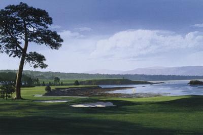 Golf Course 1 by William Vanderdasson
