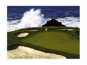 Golf Course 2 by William Vanderdasson