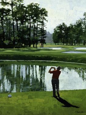 Golf Course 9 by William Vanderdasson