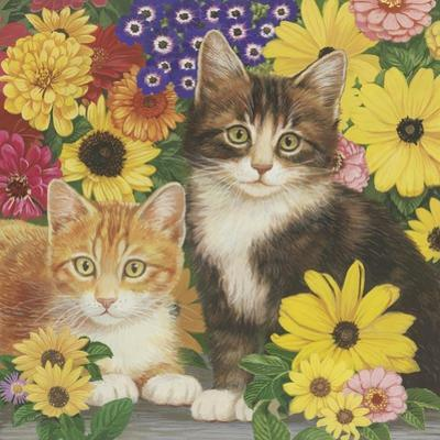 Kitties and Flowers